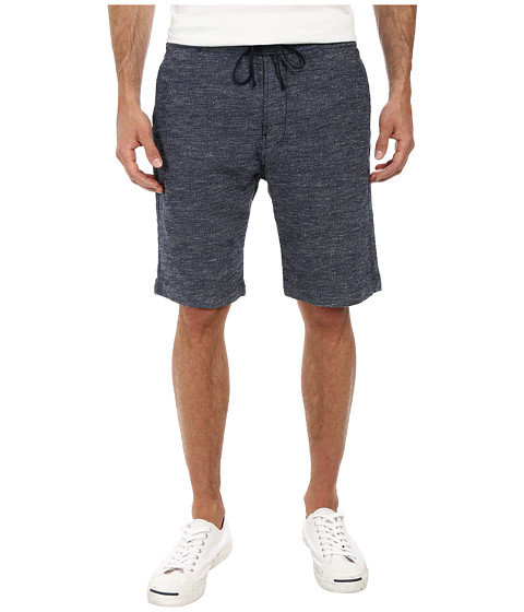 7 For All Mankind - Drawstring Melange Shorts (Light Wash Melange) Men's Shorts