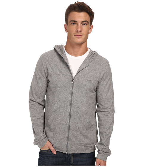 BOSS Hugo Boss - Mix and Match Zip Up (Medium Grey) Men