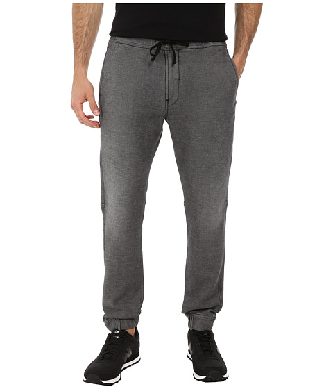 7 For All Mankind - Sportif Sweatpants (Black Wash) Men's Casual Pants