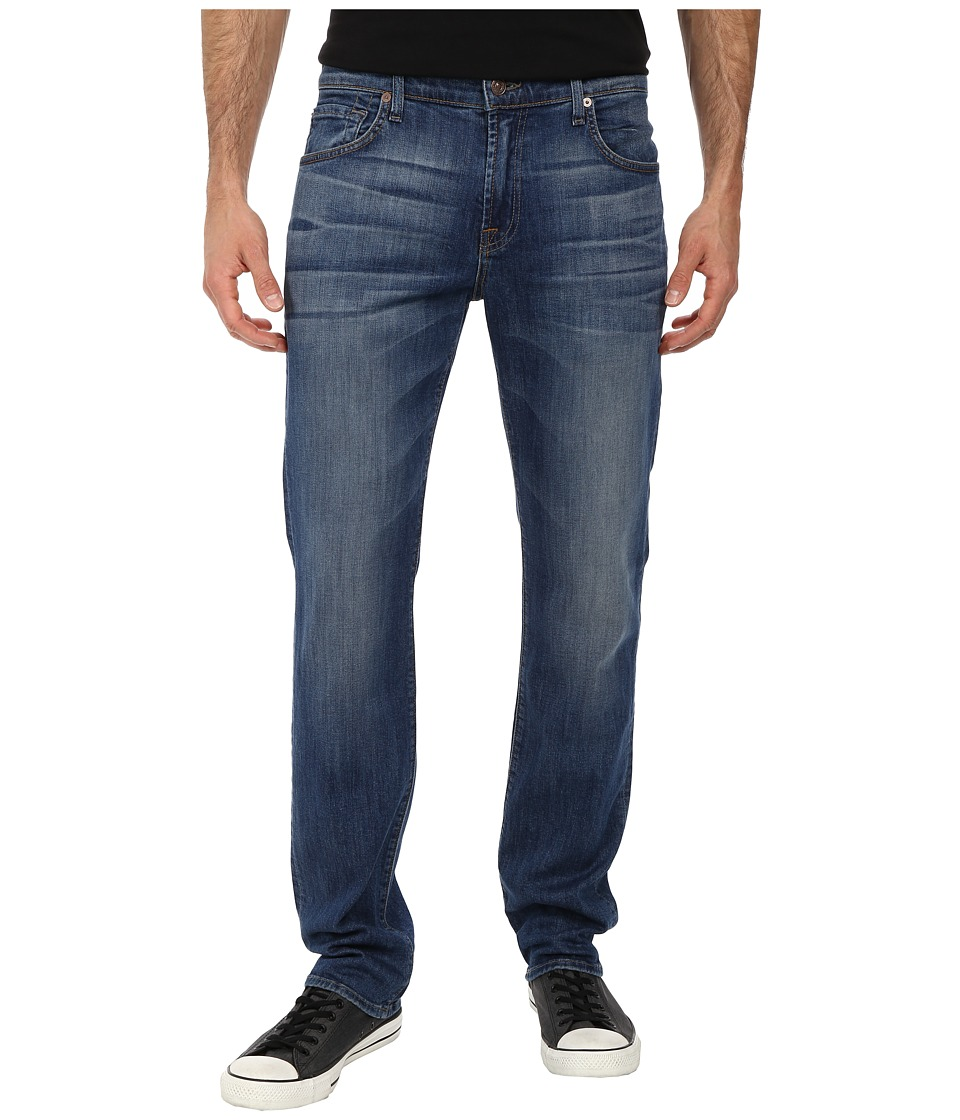 7 For All Mankind - The Straight in Skydiver (Skydiver) Men's Jeans