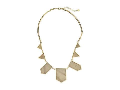 House of Harlow 1960 - Five Station Resin Necklace (White) Necklace