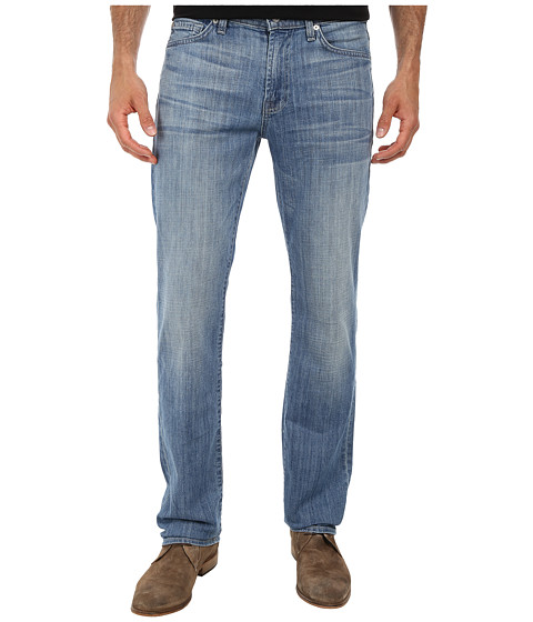 7 For All Mankind - Slimmy Slim Straight in Island Life (Island Life) Men's Jeans