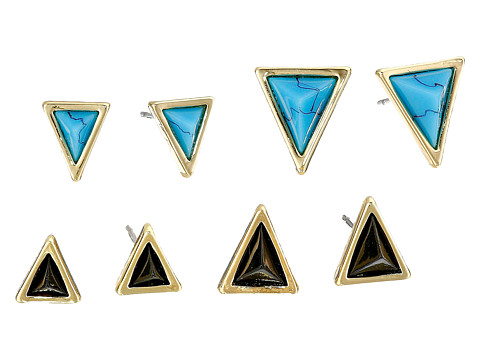 House of Harlow 1960 - Meteoria Stud Set (Turquoise) Earring