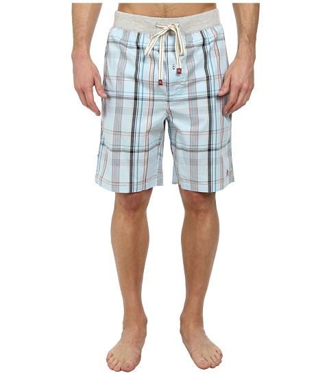 Original Penguin - Sleep Shorts (Cory Plaid) Men