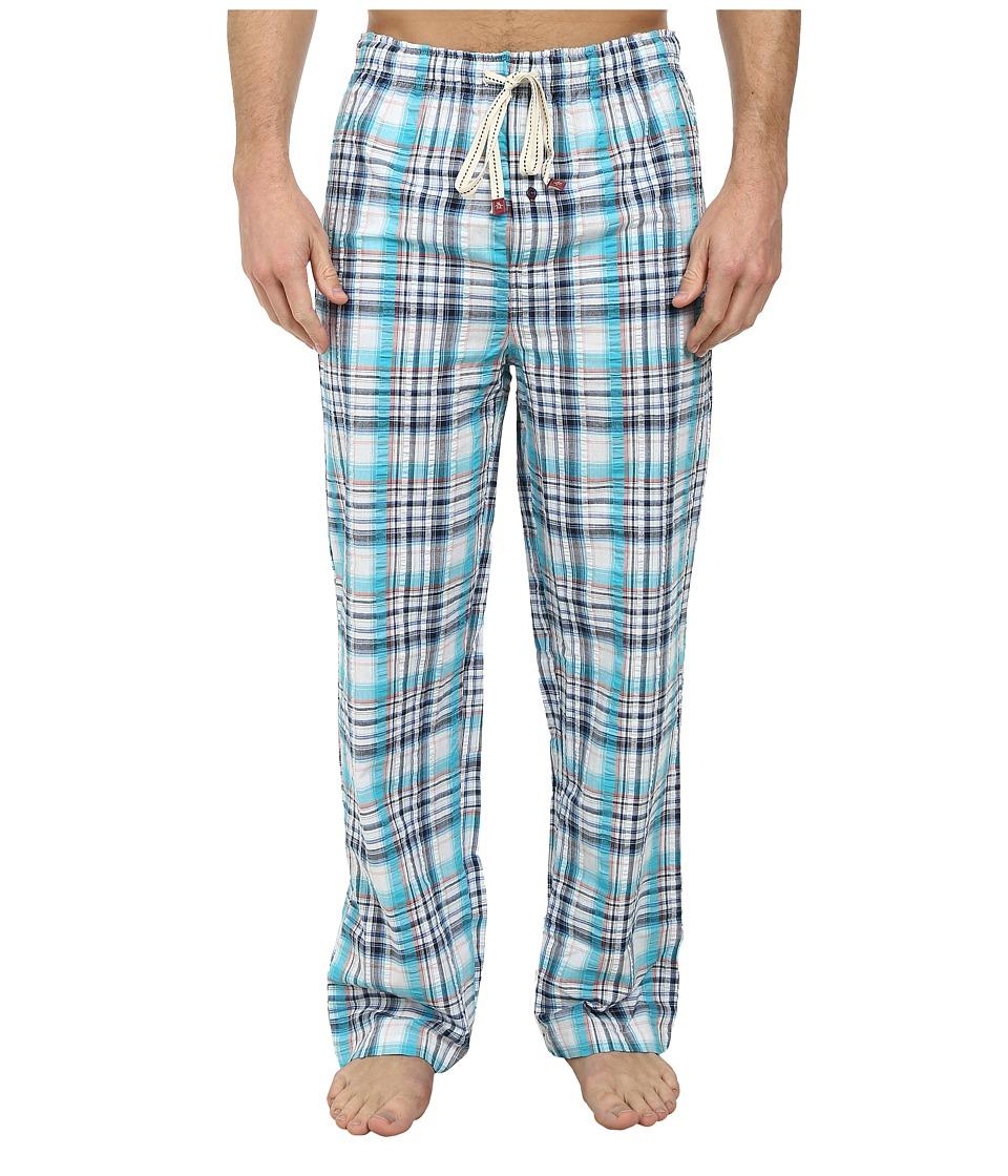 Original Penguin - Woven Pants (Scuba Plaid) Men's Pajama