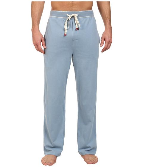 Original Penguin - Comfortable Soft Knit Lounge Pants (Faded Denim) Men