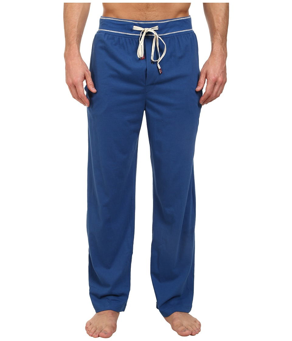 Original Penguin - Comfortable Soft Knit Lounge Pants (Blue) Men's Pajama