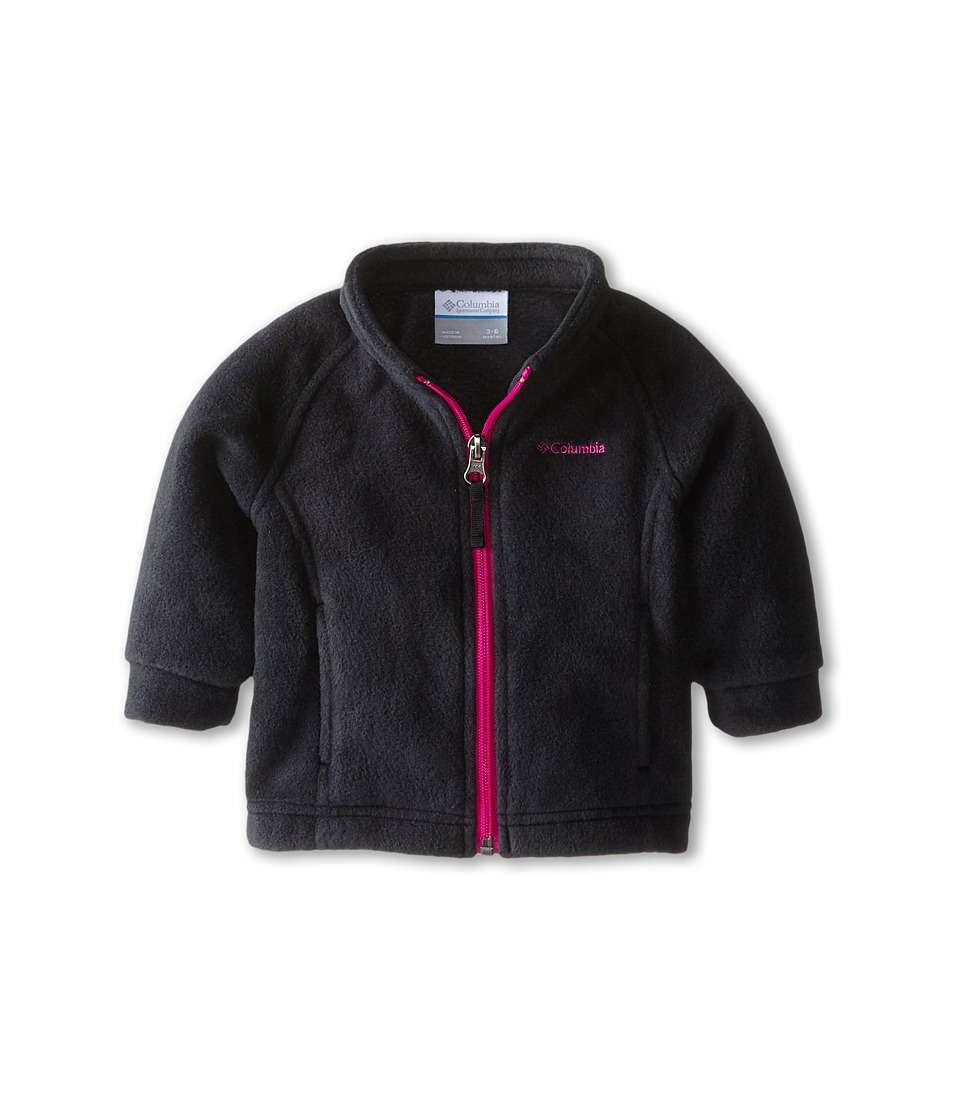 Columbia Kids - Benton Springs Fleece (Infant) (Black/Groovy Pink) Girl