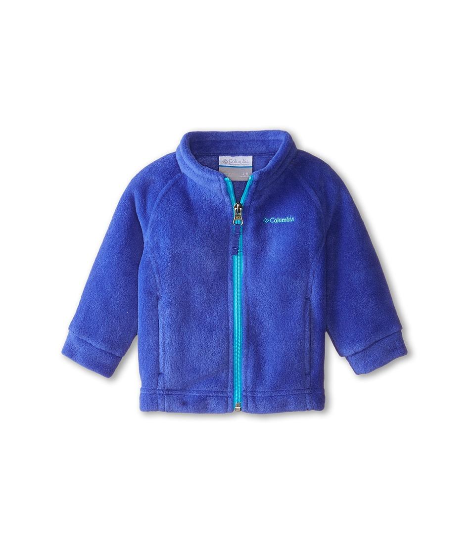 Columbia Kids - Benton Springs Fleece (Infant) (Light Grape/Atoll) Girl's Fleece