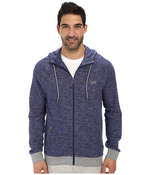 BOSS Hugo Boss - Heritage Zip Up (Medium Blue) Men