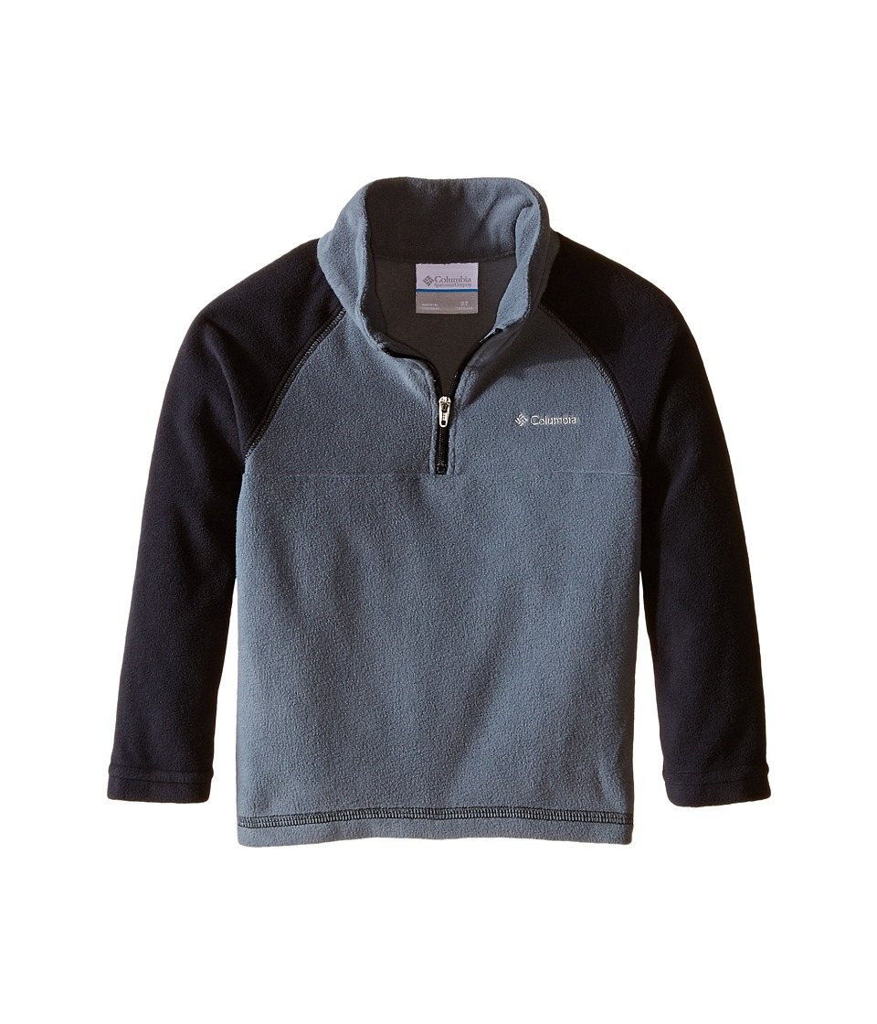 Columbia Kids - Glacial Fleece Print Half Zip (Toddler) (Graphite) Boy's Fleece