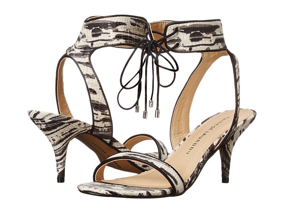 Chinese Laundry - Ravish (Black/White Exotic) High Heels