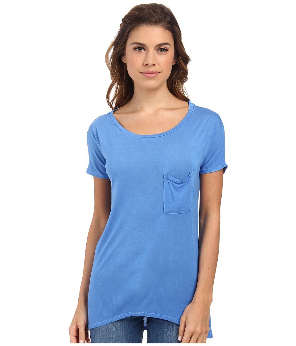 LAmade - Drop Shoulder Tee (Azul) Women's T Shirt