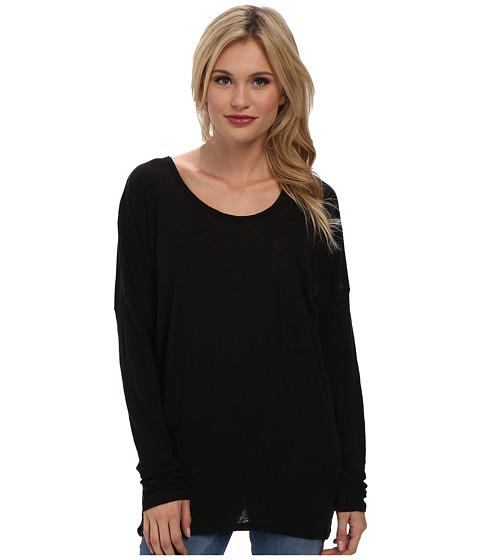 LAmade - Luxe Linen Ace Top (Black) Women