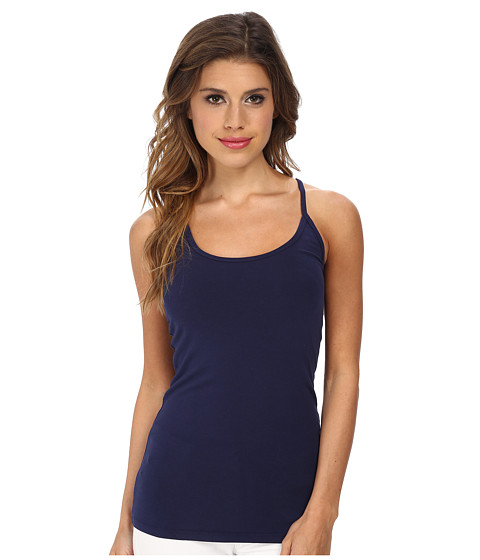 LAmade - Basic Scoop Tank (Midnight) Women's Sleeveless