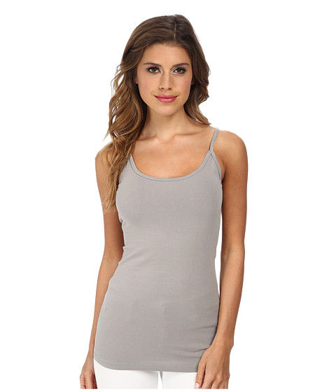 LAmade - Basic Scoop Tank (Steel) Women's Sleeveless