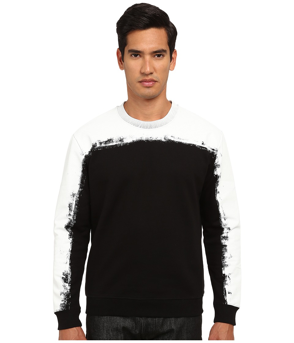 McQ - Degrade Sweatshirt (Darkest Black) Men