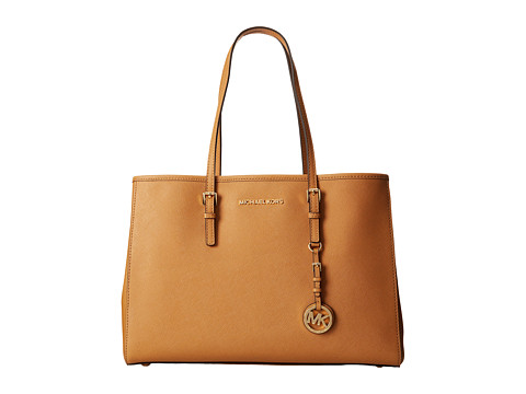 MICHAEL Michael Kors - Jet Set Large Travel E/W Tote (Peanut) Tote Handbags