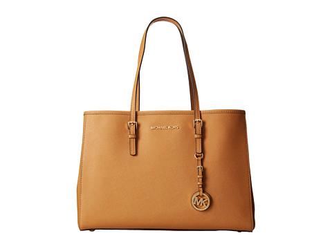 MICHAEL Michael Kors - Jet Set Large Travel E/W Tote (Peanut) Tote Handbags