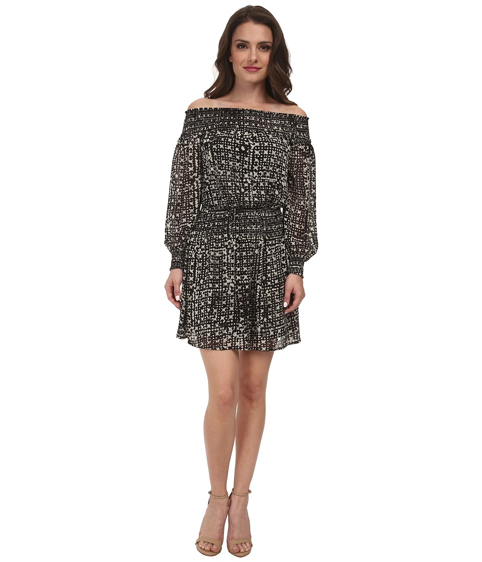MICHAEL Michael Kors - Petite Mandera Smock Dress (Black) Women's Dress