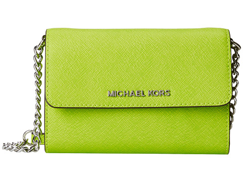 MICHAEL Michael Kors - Jet Set Travel Large Phone Crossbody (Pear) Cross Body Handbags