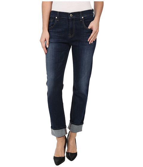7 For All Mankind - Relaxed Skinny in Heritage Medium Dark (Heritage Medium Dark) Women