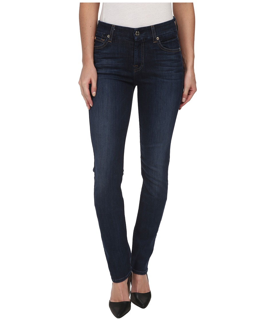 7 For All Mankind - Kimmie Straight in Heritage Medium Dark (Heritage Medium Dark) Women