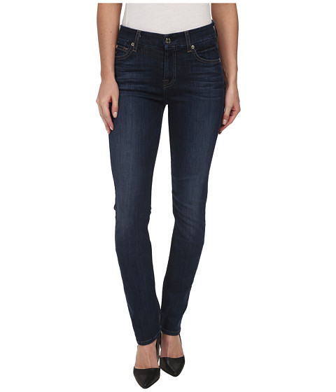 7 For All Mankind - Kimmie Straight in Heritage Medium Dark (Heritage Medium Dark) Women's Jeans