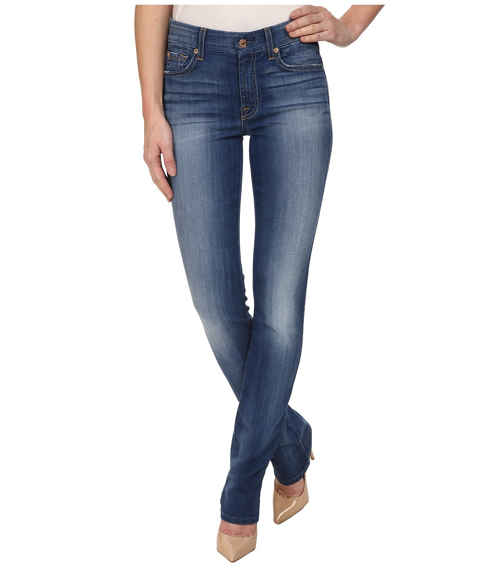 7 For All Mankind - Kimmie Straight in Brilliant Azure (Brilliant Azure) Women's Jeans