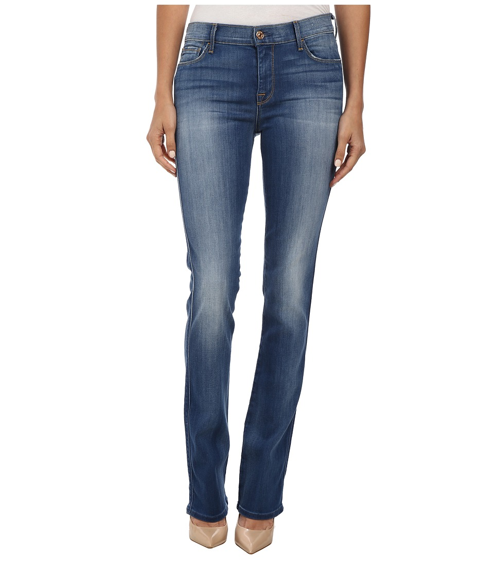 7 For All Mankind - Skinny Boot in Brilliant Azure (Brilliant Azure) Women's Jeans
