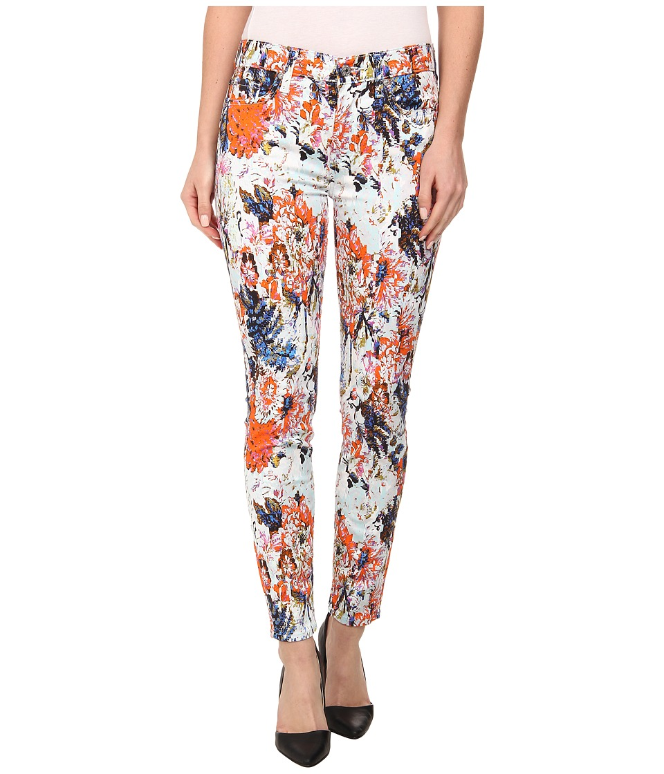7 For All Mankind - The Ankle Skinny in Floral Haze Print (Floral Haze Print) Women
