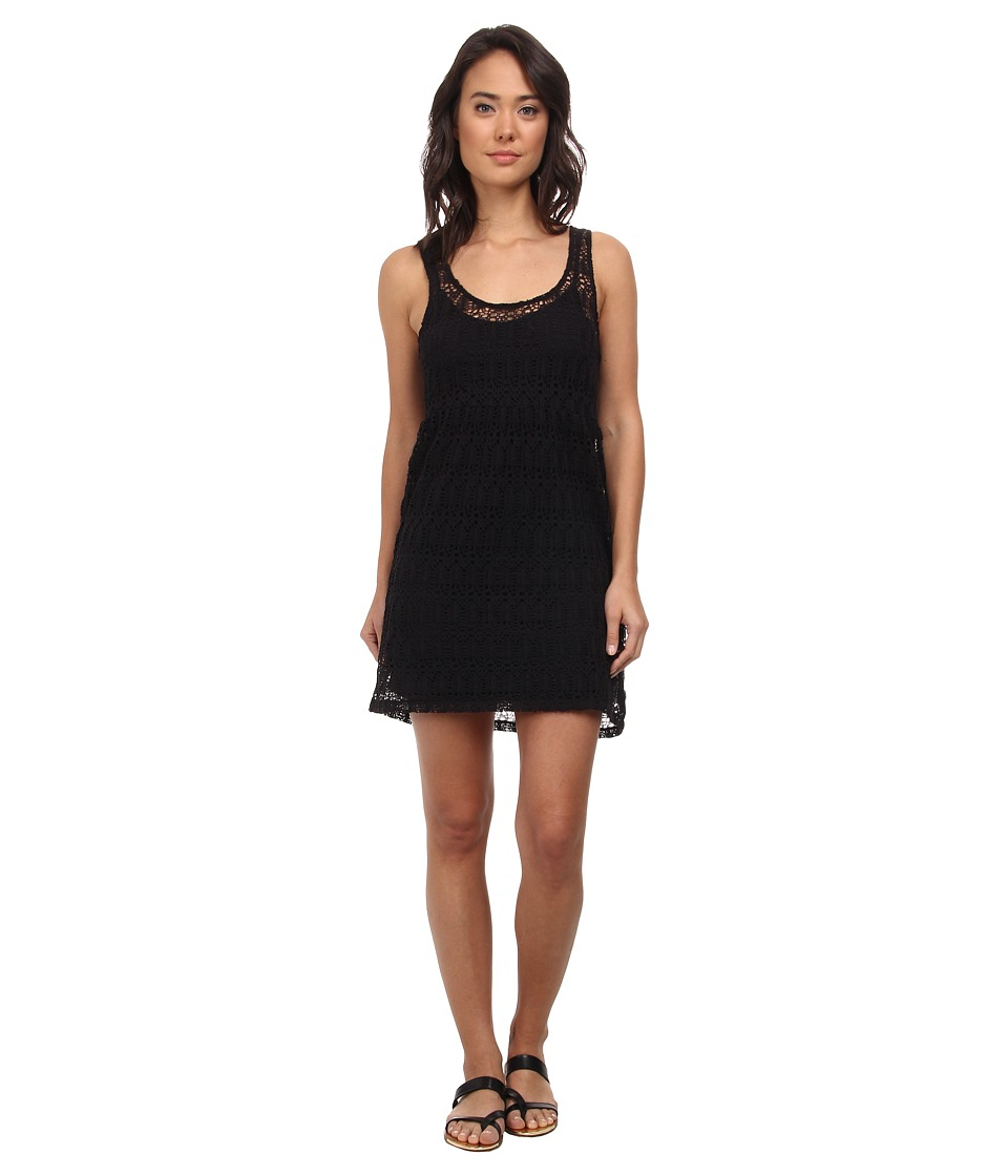 Vans - Fingers Crossed Dress (Black) Women's Dress