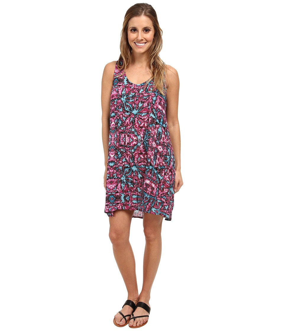 Vans - Push Back Dress (Magenta) Women's Dress