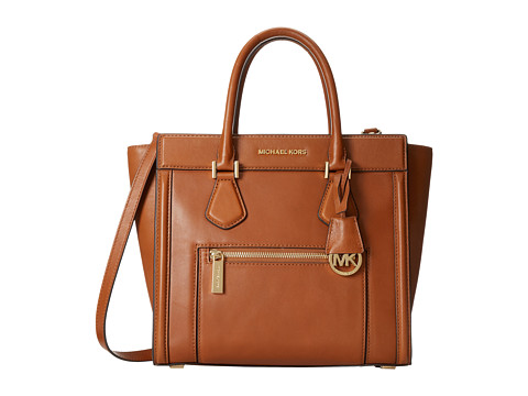 MICHAEL Michael Kors - Colette Zip Large Satchel (Luggage) Satchel Handbags