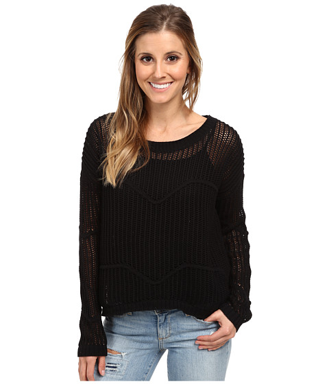Vans - Lions Share Sweater (Black) Women's Sweater