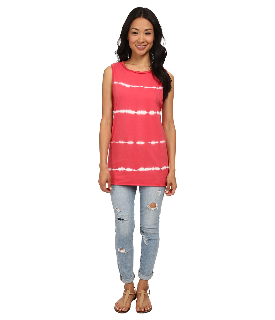 Vans - On A String Tunic Tank Top (Crimson) Women