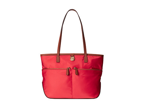 MICHAEL Michael Kors - Kempton Medium Pocket Tote (Watermelon) Tote Handbags