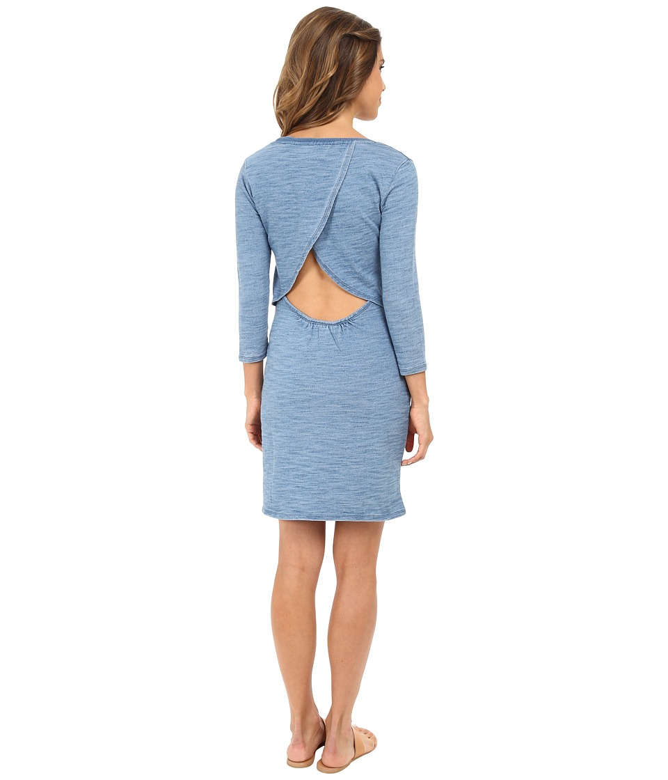 C&C California Open Back Dress (Indigo) Women