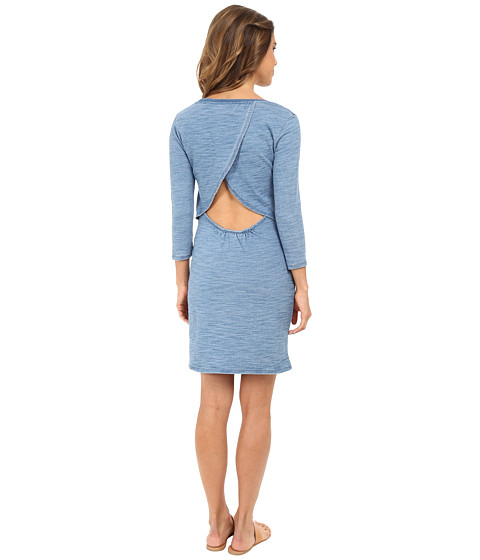 C&C California - Open Back Dress (Indigo) Women's Dress