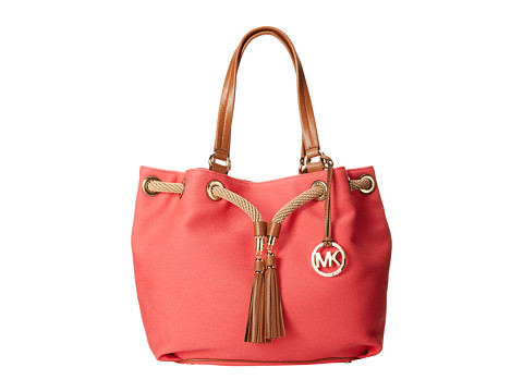 MICHAEL Michael Kors - Marina Large Gathered Tote (Watermelon) Tote Handbags