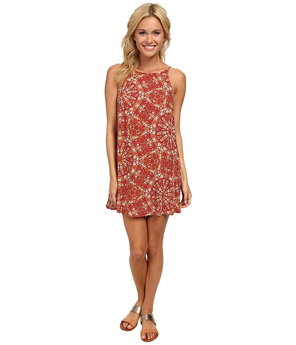 Vans - Marie Dress (Autumn Leaves) Women's Dress