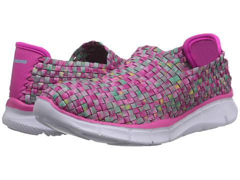 SKECHERS KIDS - Equalizer - Vivd Dream 81793L (Little Kid/Big Kid) (Pink/Multi) Girl's Shoes