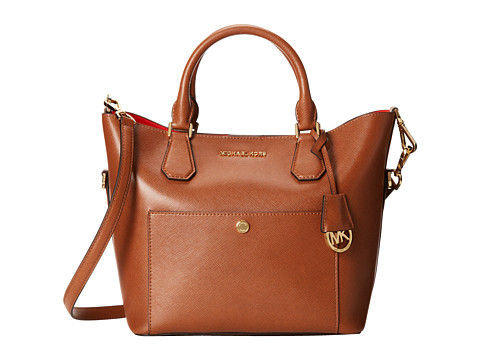 MICHAEL Michael Kors - Greenwich Large Grab Bag (Luggage/Mandrn) Bags