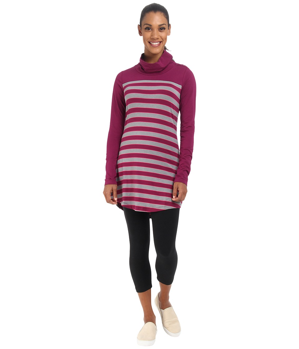 Lole - Principle Tunic (Mulberry Multi-Stripe) Women
