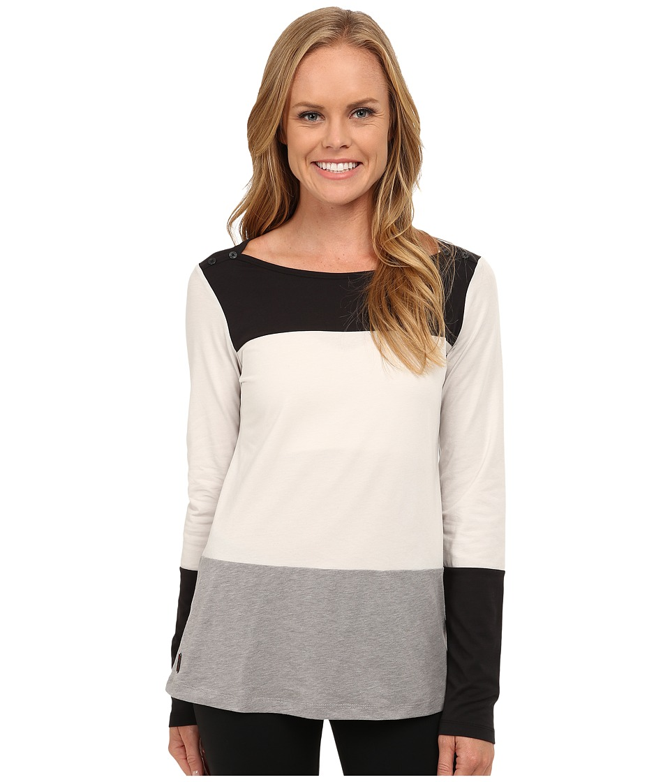 Lole - Meg Top (Turnip Heather) Women's Long Sleeve Pullover