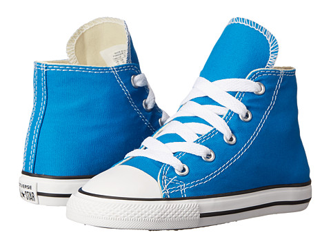 Converse Kids - Chuck Taylor All Star Hi (Infant/Toddler) (Cyan Space) Kids Shoes