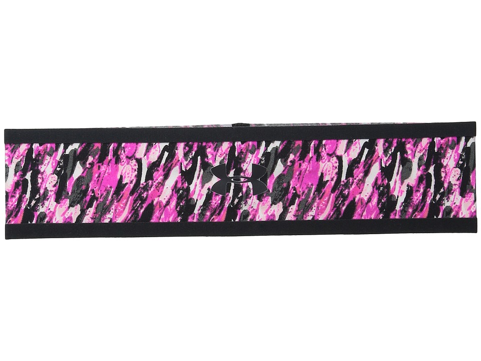 Under Armour - UA Bonded Headband (Rebel Pink/Rebel Pink/Black) Headband