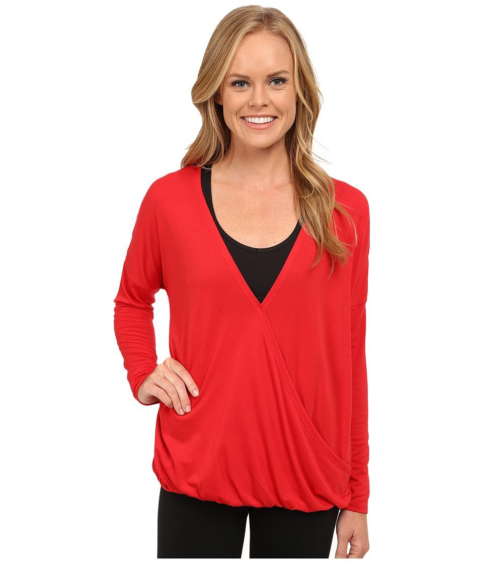 Lole - Abella Top (Salsa) Women's Long Sleeve Pullover