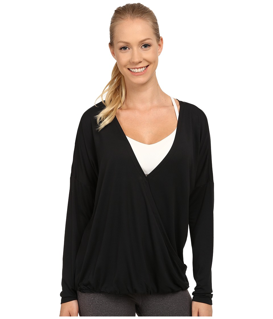 Lole - Abella Top (Black) Women's Long Sleeve Pullover