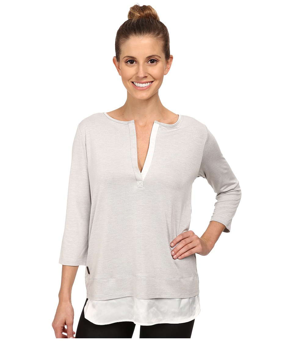Lole Abby Tunic (Warm Grey Heather) Women